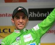 Contador roulera jeudi sur le circuit de  Longchamp !
